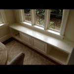 Custom Window Seat - After