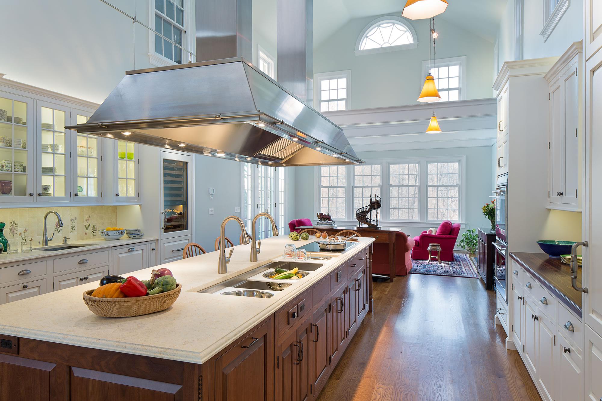 designsforlivingvt kitchen remodel ct Lofty Connecticut Kitchen Remodel embraces natural light works for family