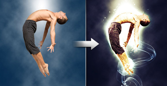 Add Brilliant Light Effects to Your Work with Photoshop
