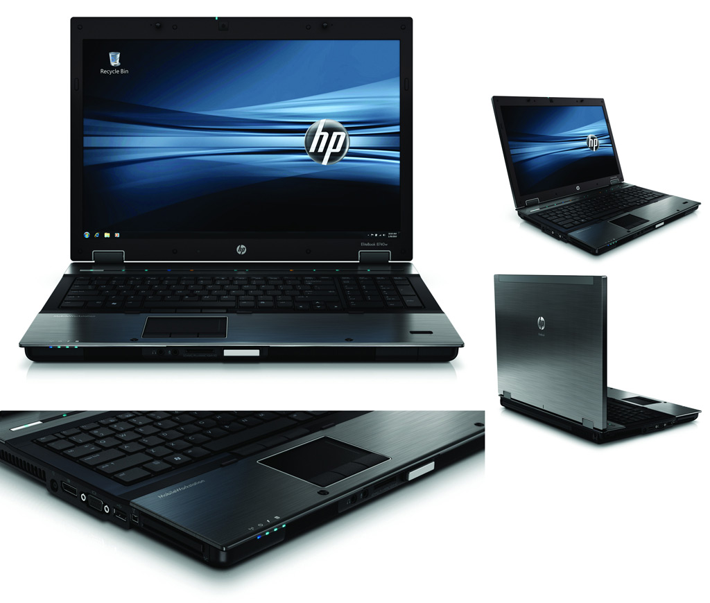 HP EliteBook Front
