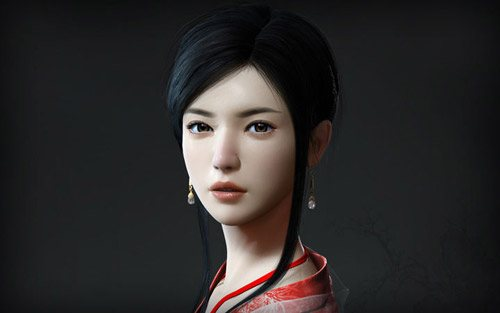 Classical Girl in The Ultimate Collection Of Maya 3D Tutorials