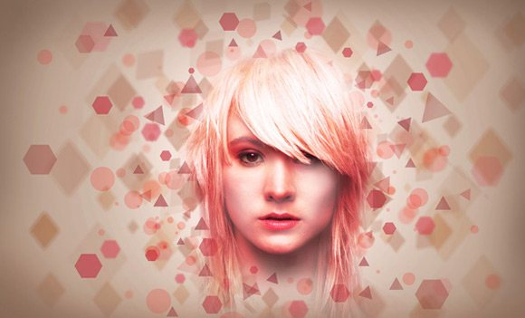 Pink Lady Photo Manipulation
