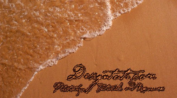 Create a Written in the Sand Text Effect in Photoshop