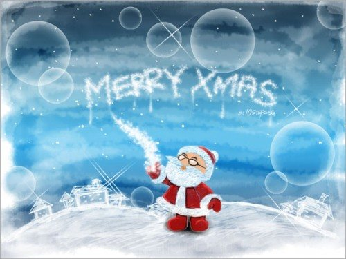 christmas card photoshop tutorial-7