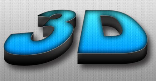 3D Text effect 30 Interesting Photoshop Text Effect Tutorials - Designs Mag