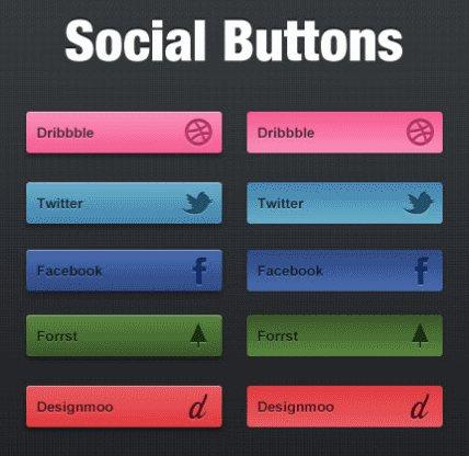 80 Prefect Downloadable Photoshop Web Buttons - Designs Mag