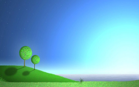 beautiful cartoon scenery wallpaper Striking Cartoon Wallpapers to Customize Your Desktop