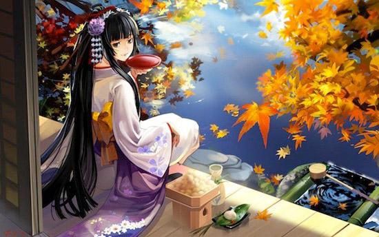japanese cartoon girl Striking Cartoon Wallpapers to Customize Your Desktop