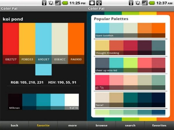 color pal Android Apps for Designers