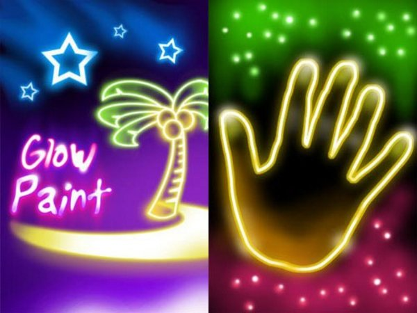 Glow Paint Android Apps for Designers