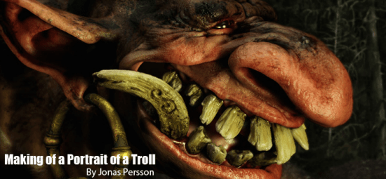 Portrait Of A Troll 35 Excellent Maya Tutorials For Beginners