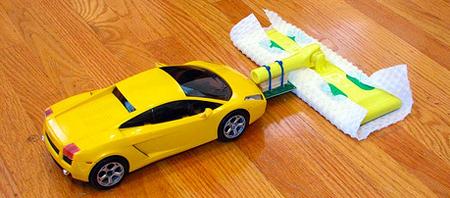 remote car mop