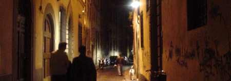 la giostra florence alleyway