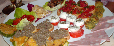 la giostra florence appetizers