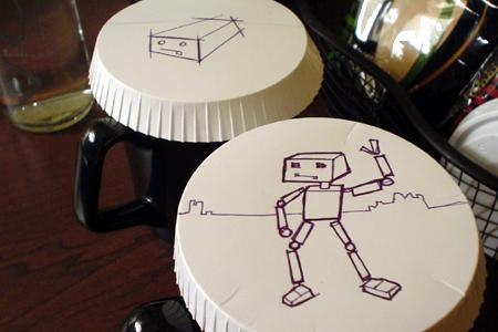 GM test drive detroit robot drawings Inn hotel st johns