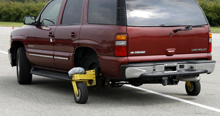 GM test drive detroit Skid monster