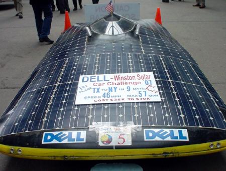 gadgetoff 2007 solar car
