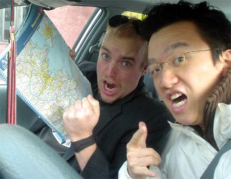 Poptech 2008 doug and I