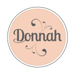 Donnah Clothing fashion logo design