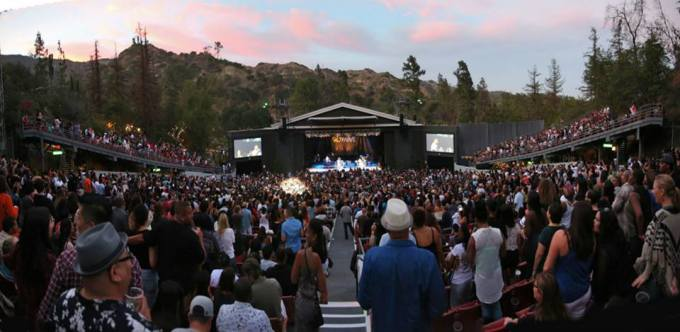 The Greek Theatre LA