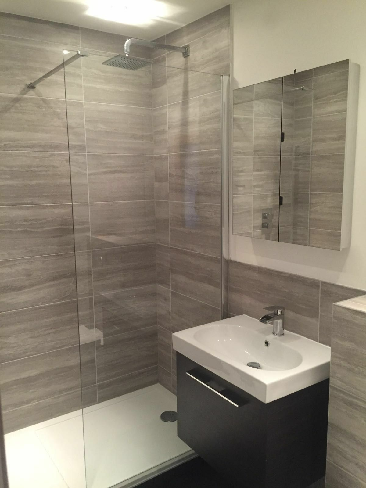 Peachy As You Can See Even Changes Made To Shower Area Alone We Haveimproved Bathroom By But We S Lichfield Ensuite Makeover Desire Bathroom Interiors houzz-03 En Suite Bathroom