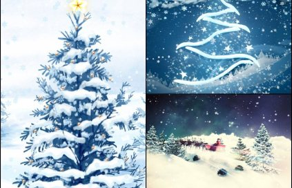 Christmas Holiday Animated Wallpaper Preview