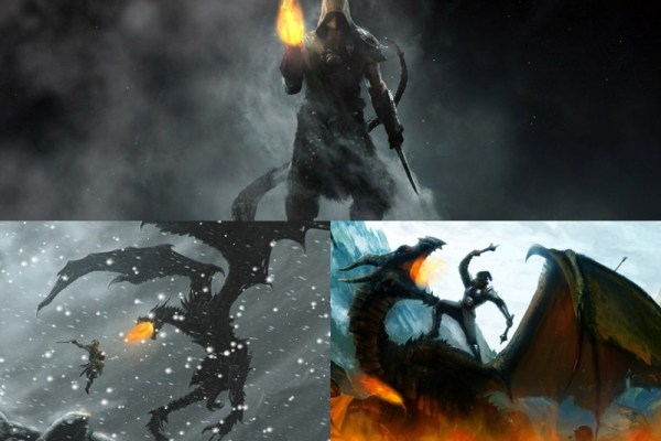 Skyrim Animated Wallpaper Preview