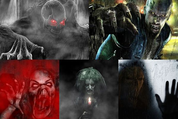 Terrifying Monsters Animated Wallpaper Preview