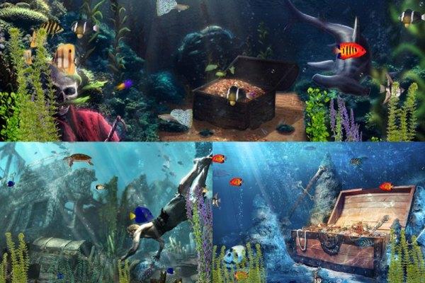 Treasure Hunt Animated Wallpaper Preview