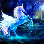 Magic Unicorns Animated Wallpaper