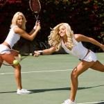 Modelos y el tenis, linda combinacion