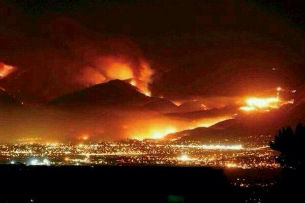 Valparaiso Incendio cerros