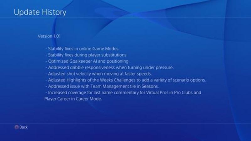 FIFA 15 Correciones