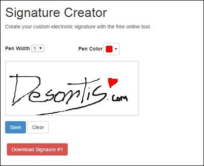 Desontis firma