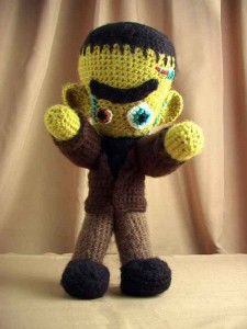 Free Frankenstein's Monster {crochet}