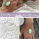 HANDPIECE & DAINTY KNUCKLE RINGS DIY