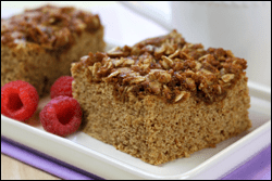 Crumb's the Word! Healthified Coffee Cake Recipe