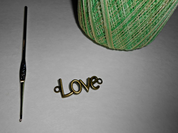 crochet love bracelet supplies