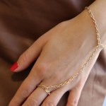 DIY Hand Chain Bracelet