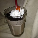 Graveyard Dirt Chocolate Peanut Butter Milkshake
