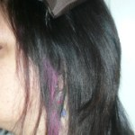 Hair Chalking for Dark Hair {DIY and tips}