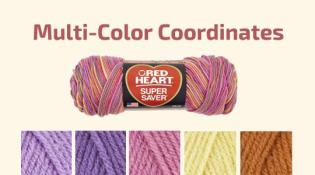 color coordinating yarn