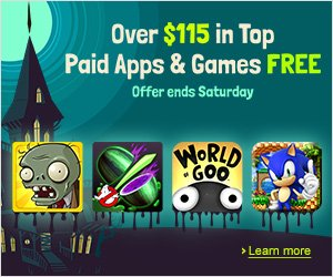 Free Kindle Games and Apps Until Saturday!