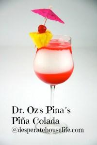 Dr. Oz's Pina's Piña Colada {skinny recipe with coconut oil}
