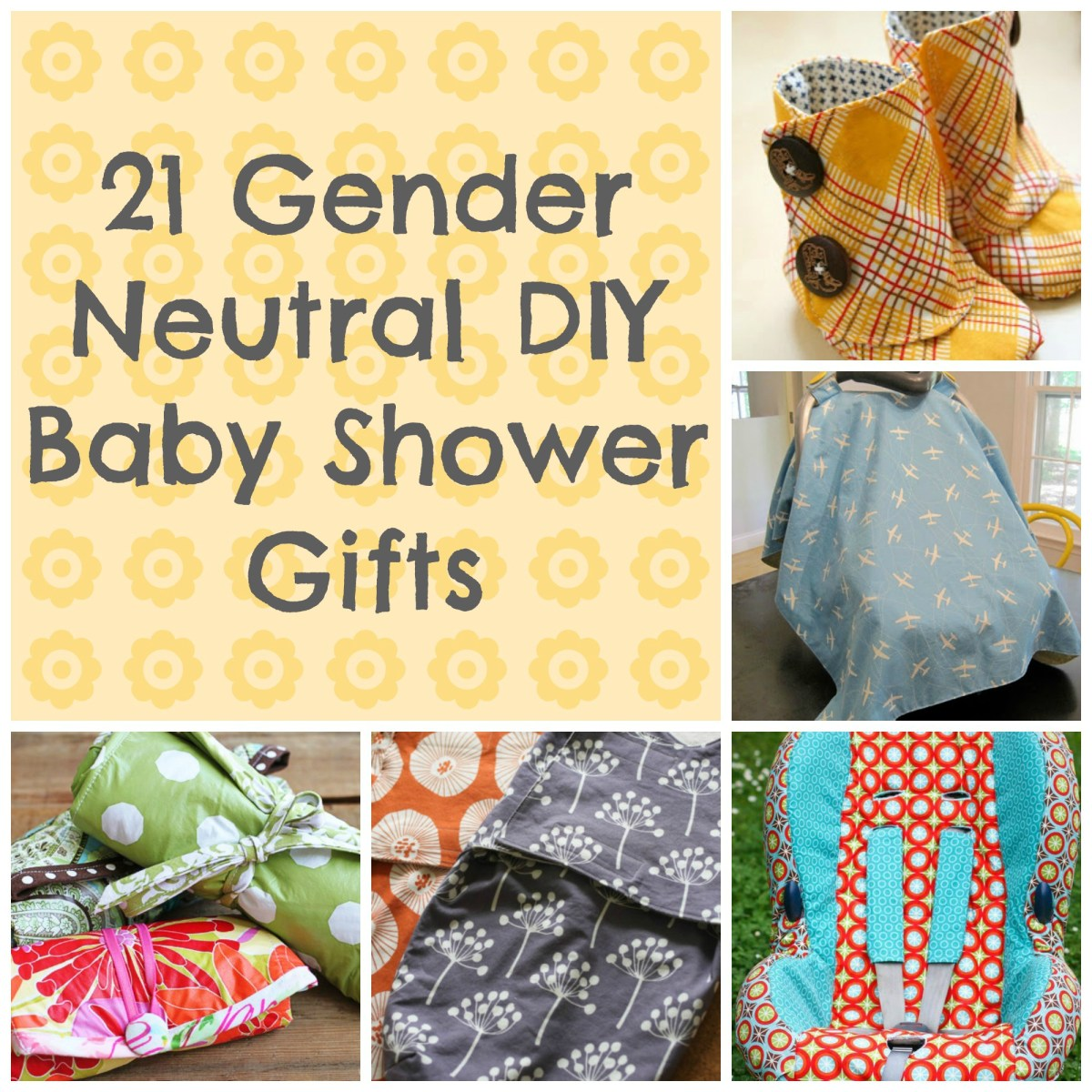 Baby Gifts For Gender Neutral : Awesome diy baby shower gift ideas that are gender neutral