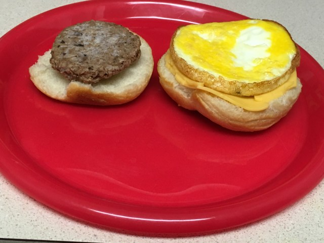 Skinny Freezer Breakfast Sandwiches