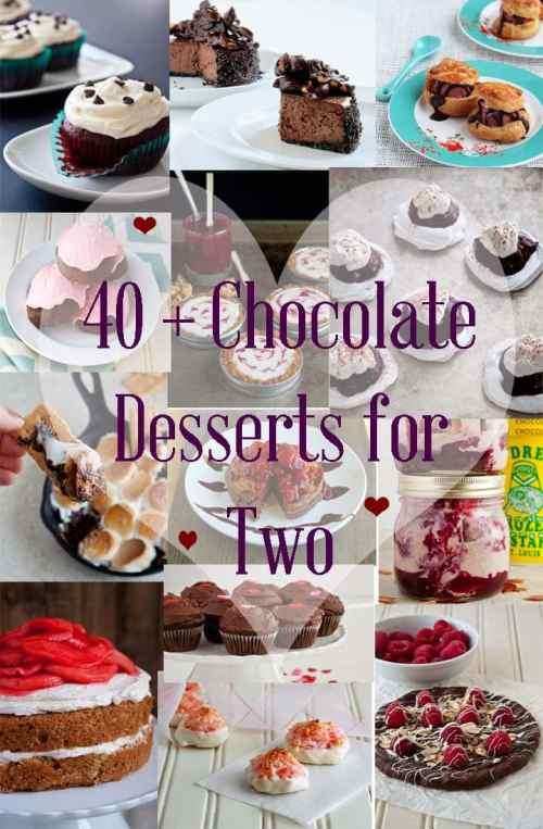 Medium Of Dessert For Two