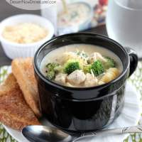 Chicken and Broccoli Alfredo Soup