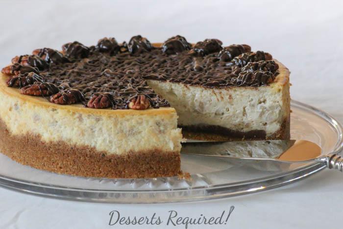 Desserts Required - Banana Cheesecake