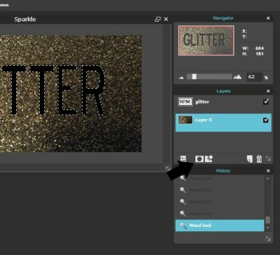 how to add gold texture to text in illustrator